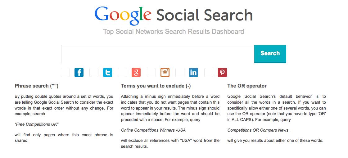 google-social-search