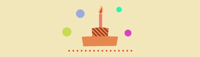 Gateau anniversaire