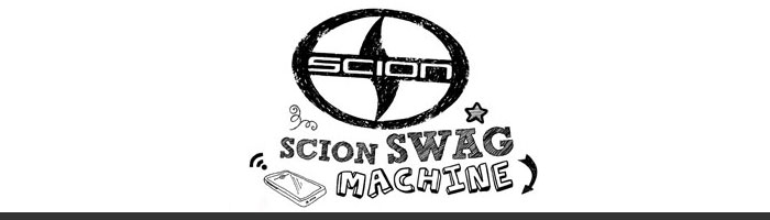 Logo Scion Swag Machine