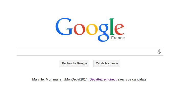 google municipales 2014